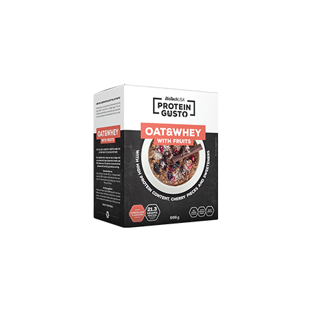 Protein Gusto - Oats & Whey avec Fruits