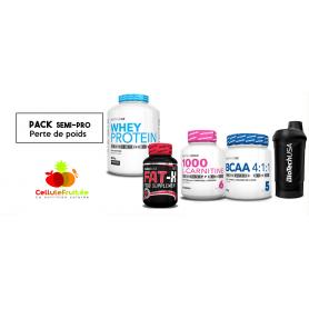 Pack Semi-Pro - Perte de poids / Sèche