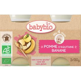 Pots Pomme banane dés 4 mois