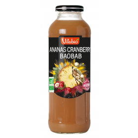 Pur Jus Ananas Cranberry Baobab - Bio (100% Fruits)