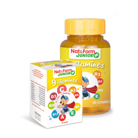 9 vitamines - Nat & Form Junior +