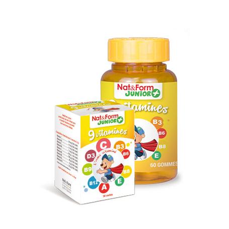9 vitamines -Nat & Form Junior +