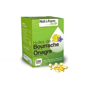 Huile de Bourrache & Onagre - Bio