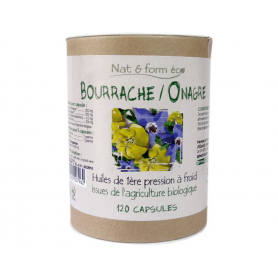 Huile de Bourrache & Onagre - Ecoresponsable - Bio