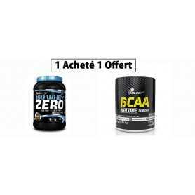 Pack Une Whey Zero Acheté /  Une BCAA Xplode Offerte