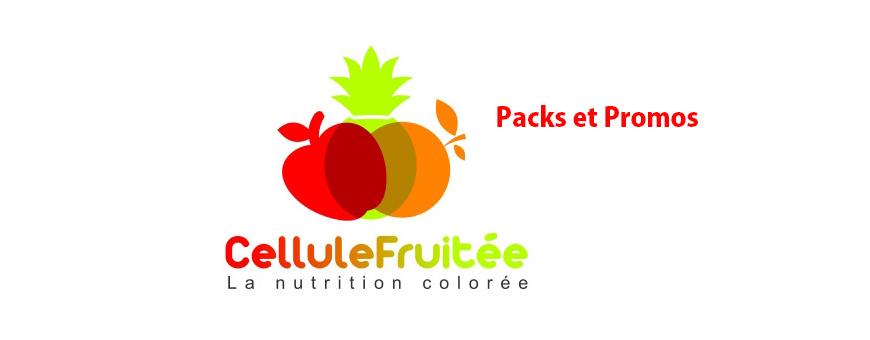 Packs et Promos  de chez  CelluleFruitée - La Nutrition Colorée