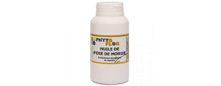 Huile de Foie de Morue - CelluleFruitée - La Nutrition Colorée