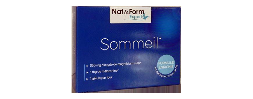 Sommeil -  Mélatonine & Magnésium Marin & Vit B6 - CelluleFruitée...