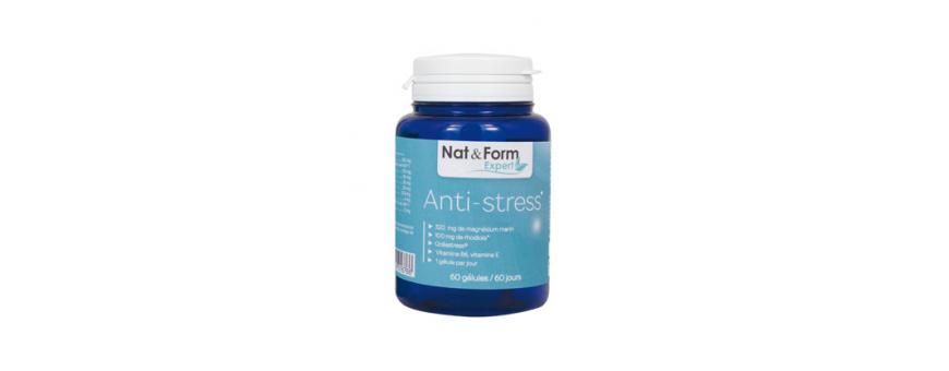 Anti-Stress  - Magnésium Marin & Rhodiola & Vit E, B6 & Océastress...