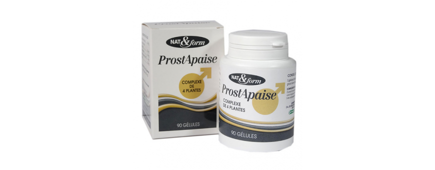 Prostate - Confort Urinaire - CelluleFruitée - La Nutrition Colorée